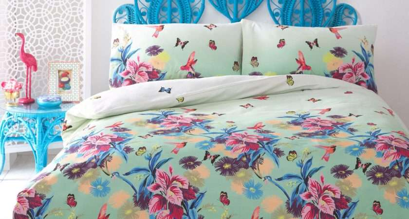 Butterfly Home Matthew Williamson Green Azure Bedding