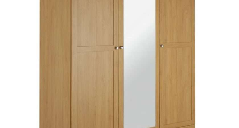 Buy Argos Home Canterbury Drw Mirrored Wardrobe