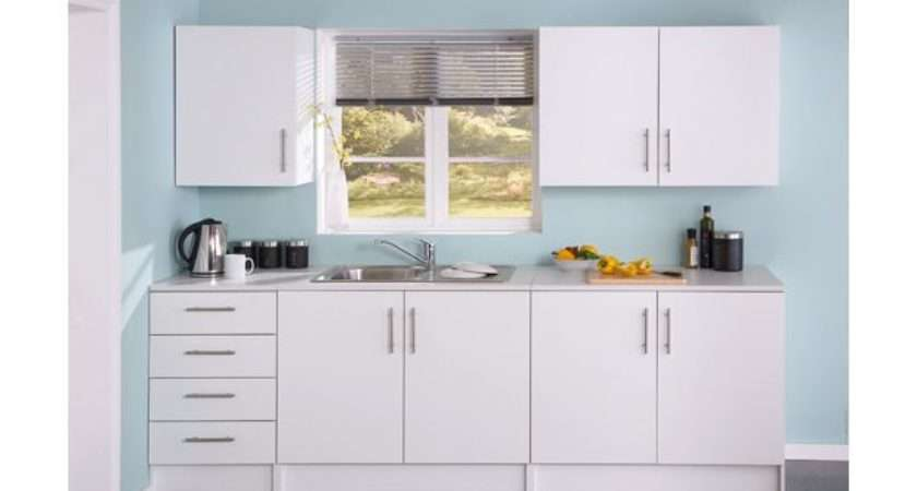 Buy Athina Piece Fitted Kitchen Unit Package White