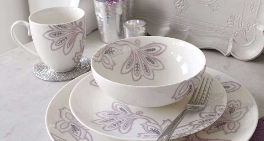 Buy Denby Monsoon Chantilly Dinner Plate Palmers