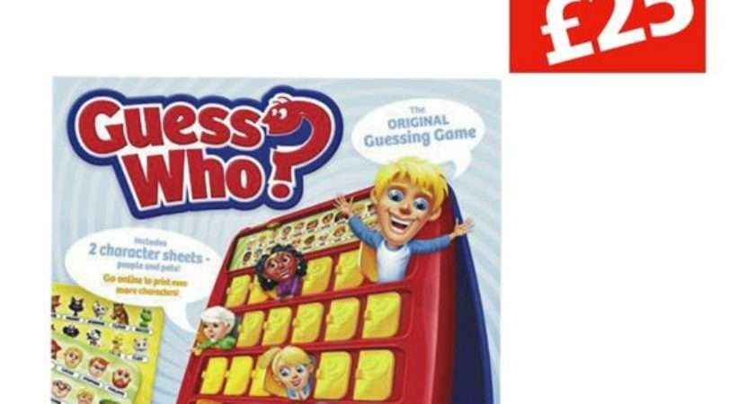 Buy Guess Board Game Hasbro Gaming Argos