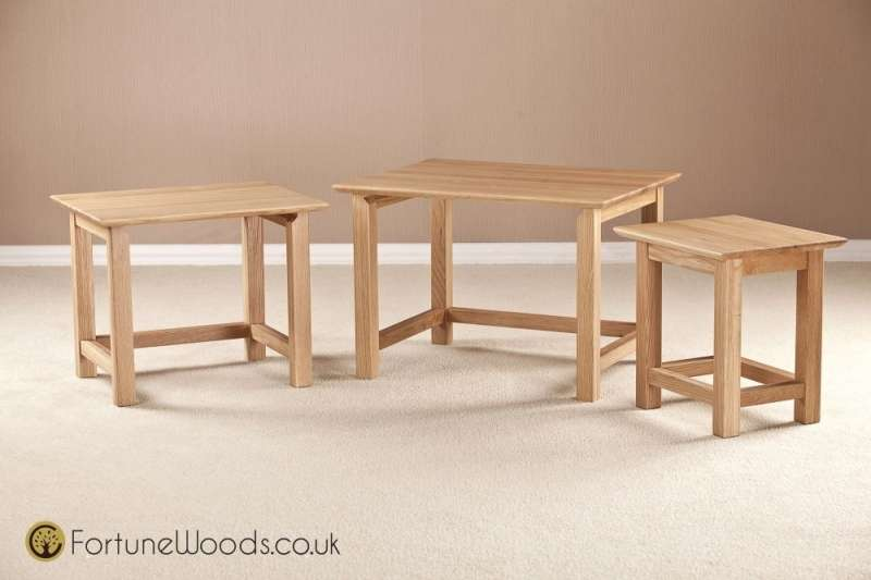 Buy Milano Oak Nest Tables Cfs