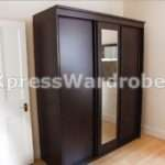 Buy Oak Mirror Sliding Wardrobe Door Aura Kit Inch Argos