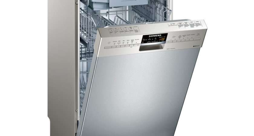 Buy Siemens Slimline Dishwasher Silver