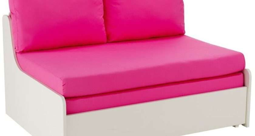 Buy Stompa Pink Double Sofa Bed Cfs