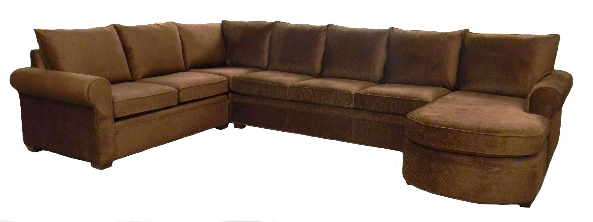 Byron Sectional Sofa Young Shown Microfidenier