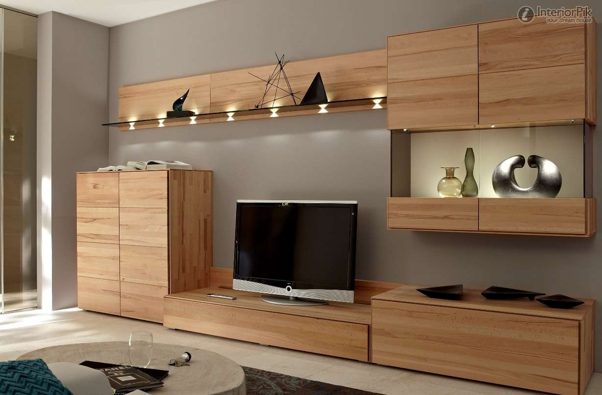 Cabinet Wall Decoration Modern Living Room