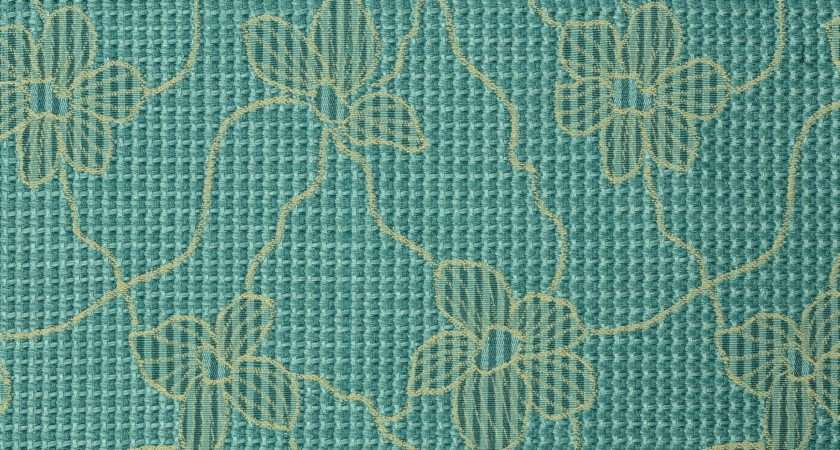Cairo Jacquard Curtain Fabric Blue Curtains Fabx