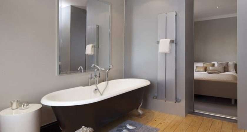 Calm Chic Blok Towel Radiator Complements Clean Lines