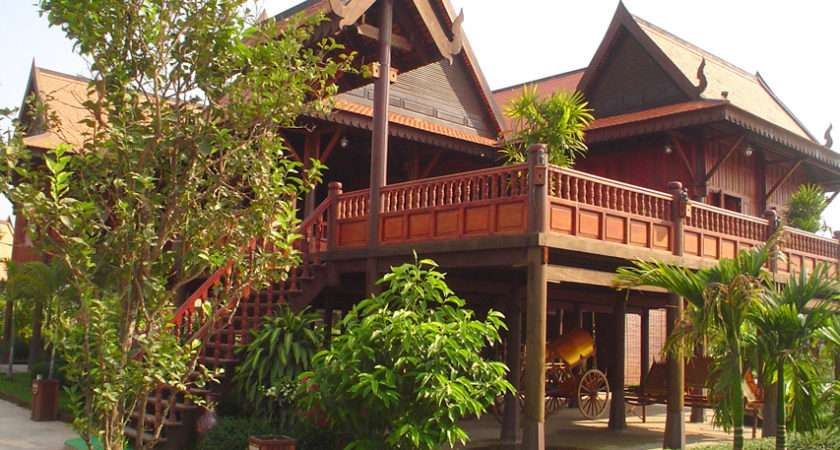 Cambodian Houses Beautiful Traditional House Cambodia