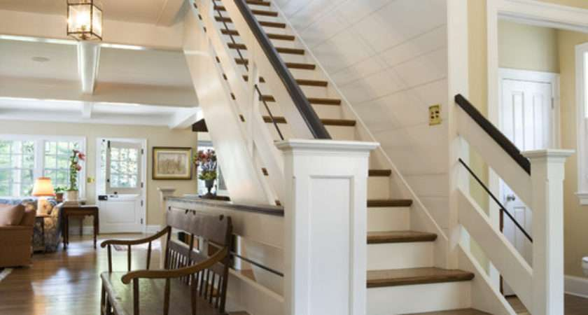 Canary Cottage Staircase Traditional
