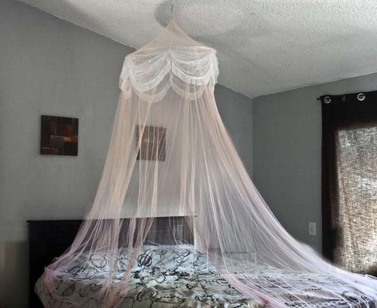 Canopy Bed Bedroom Home Decorating Ideas Pinterest