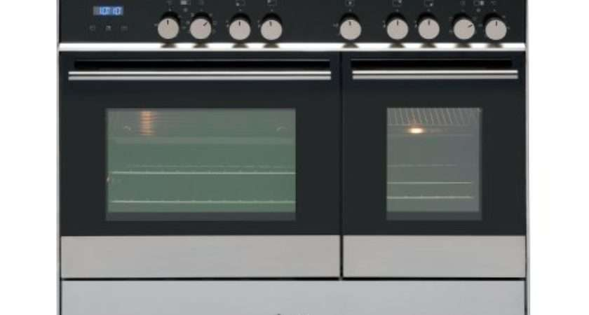 Caple Dual Fuel Range Cooker Stainless Steel