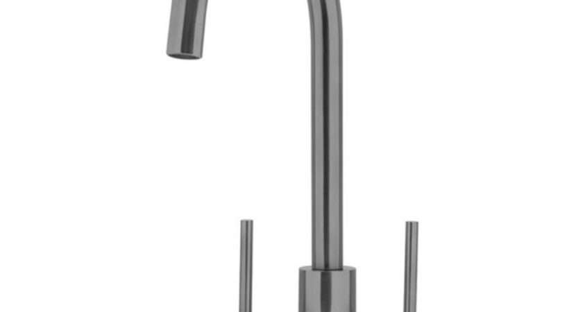 Caple Lamar Dual Lever Kitchen Tap Stainless Steel