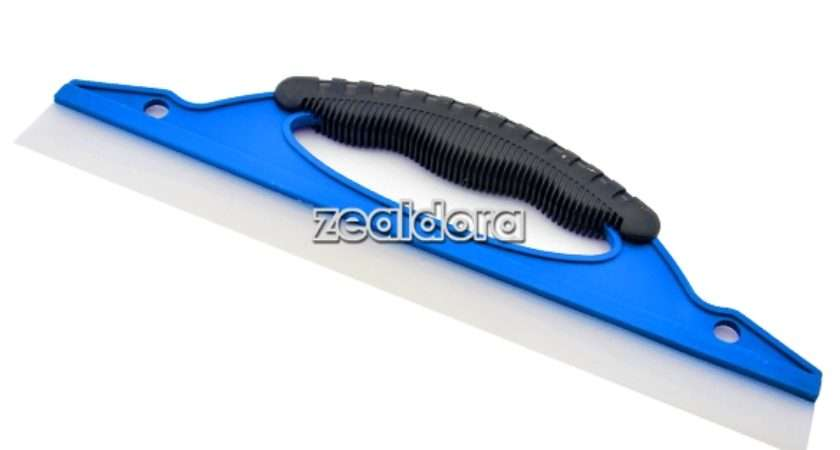 Car Window Wash Clean Cleaner Wiper Squeegee Drying Blade Shower Kit