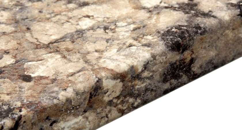 Carnival Granite Marble Effect Round Edge Worktop