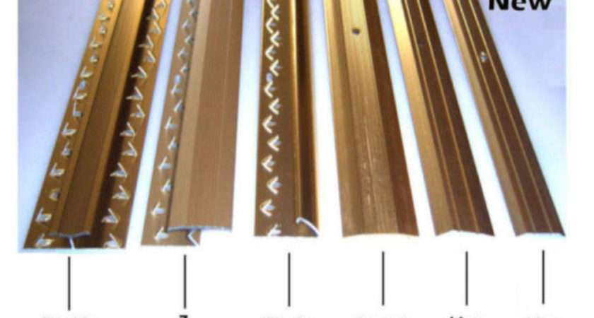 Carpet Strips Door Bars Metal Edgings Single Double Cover