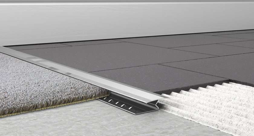 Carpet Tile Bar Chrome