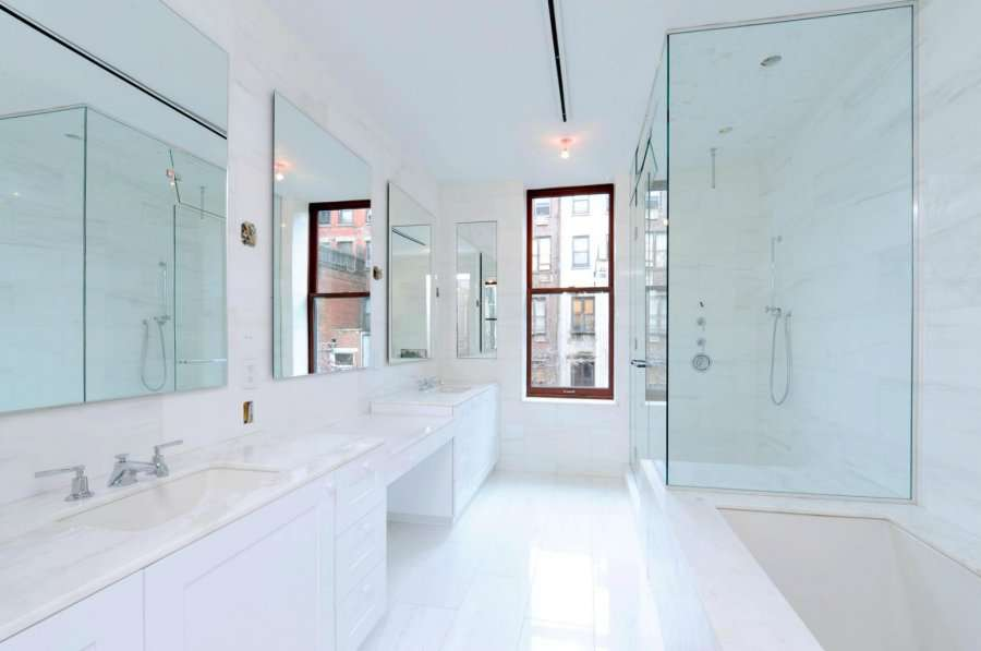 Carrara Marble Bathroom Ideas White