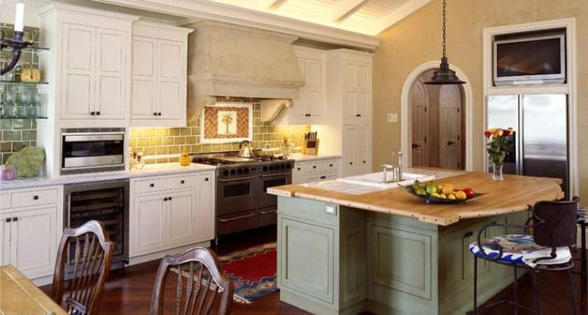 Casual Country Rustic Kitchen Jane Frederick