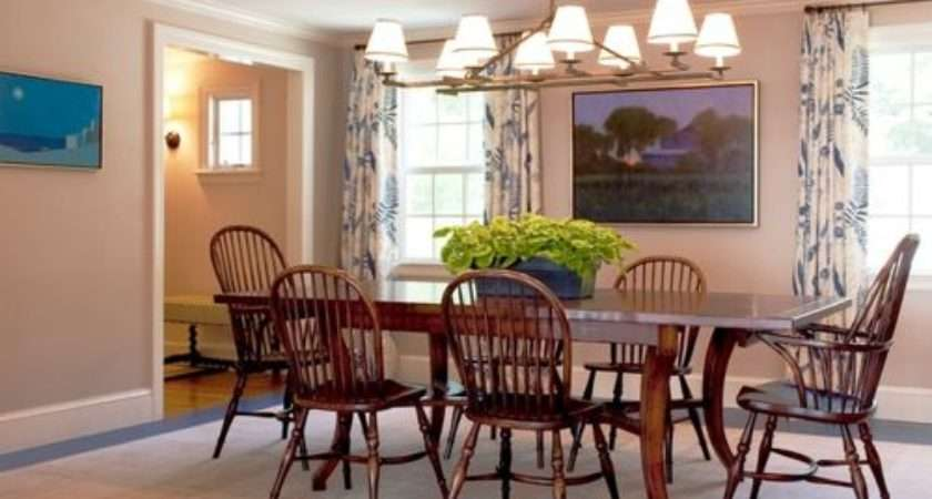 Casual Dining Room Curtains Home Design Ideas