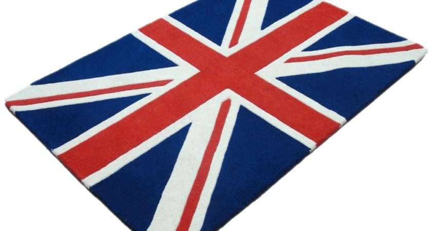 Categories Rugs Hand Tufted Woollen Union Jack Rug