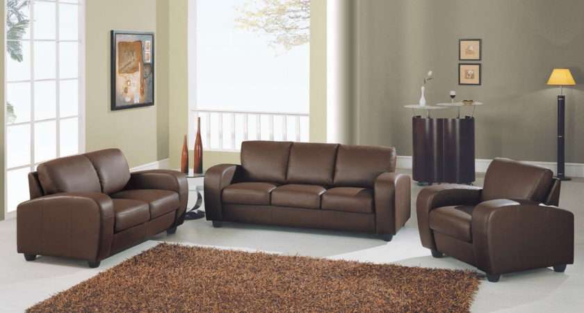 Categories Sofas Sofa Set Brown Leather Match