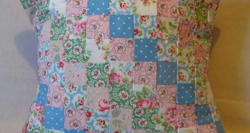 Cath Kidston Cushion Cover Patchwork