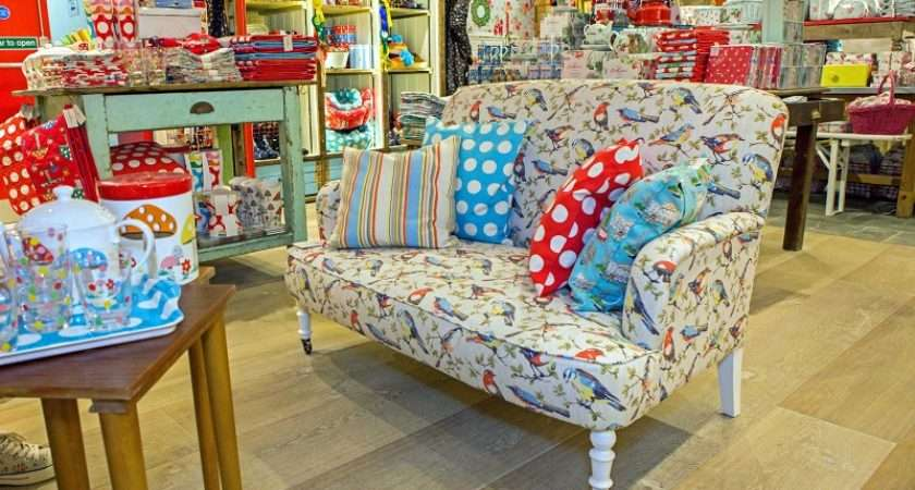 Cath Kidston Piccadilly Shop Bespoke Upholstery Service