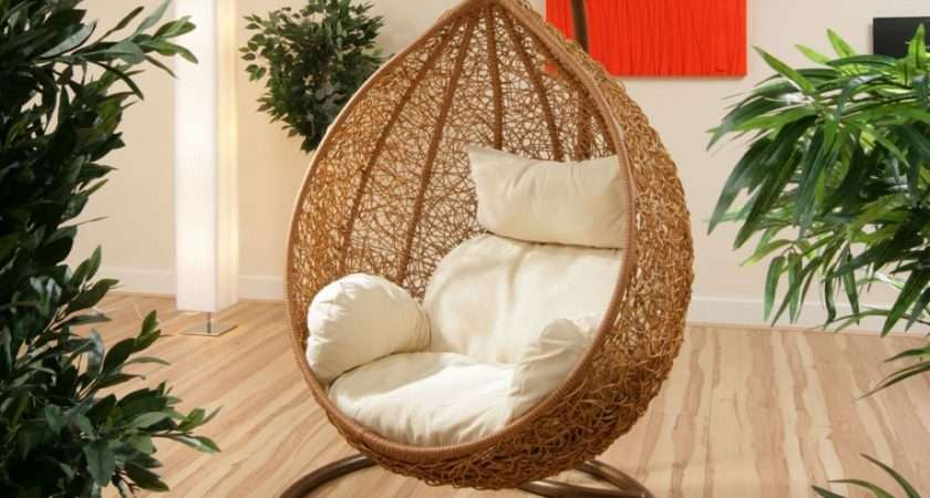 Chair Design They Hanging Wicker Stand One