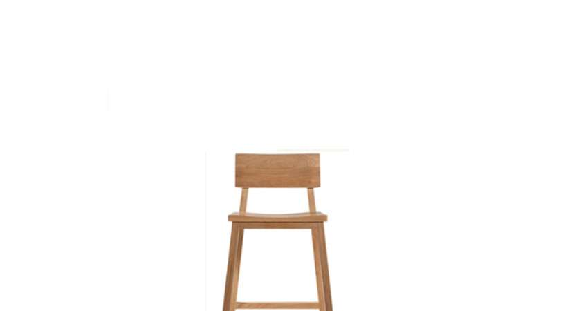 Chairs Sofas Oak Kitchen Counter Stool Without Amrest