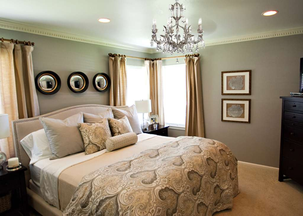 Chandelier Magen Master Bedroom Makeover After Well Dressed Home