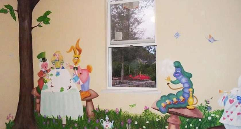 Chaniece Winfield Alice Wonderland Theme Nursery Pinte