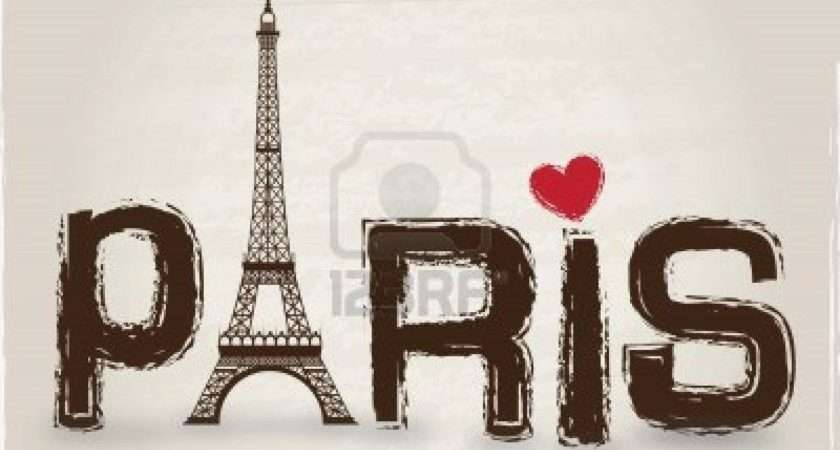 Charming Girls Paris Room Decor Cartoon Pink Tower