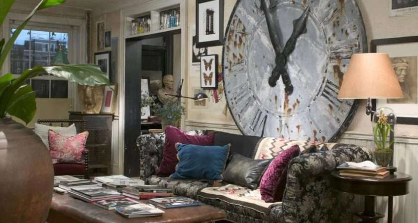 Cheap Decorating Ideas Living Room Walls Clock