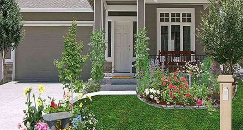 Cheap Landscaping Ideas Front House Greenvirals Style