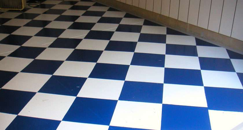 Checkerboard Floors Collector Cars Look Great Together
