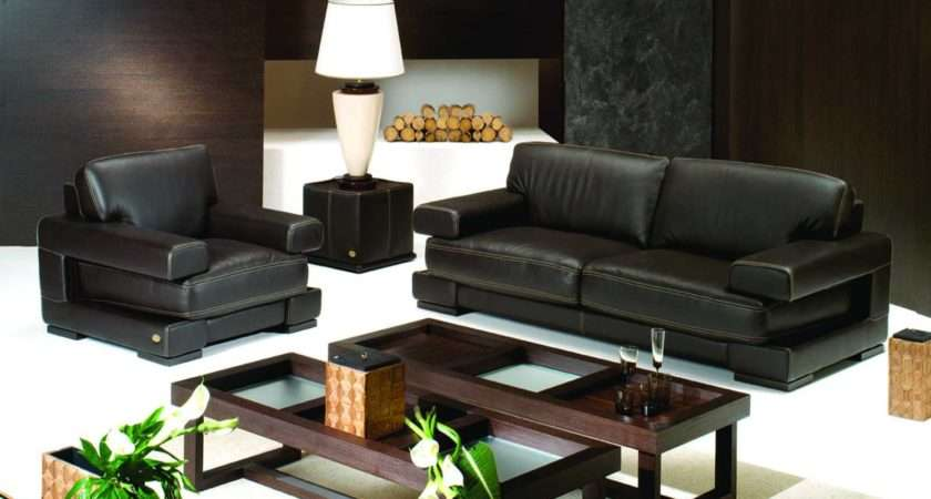Chic Modern Living Room Interior Design Decorated