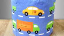 Children Bean Bag Traffic Express Boys Cars Kids Bedroom