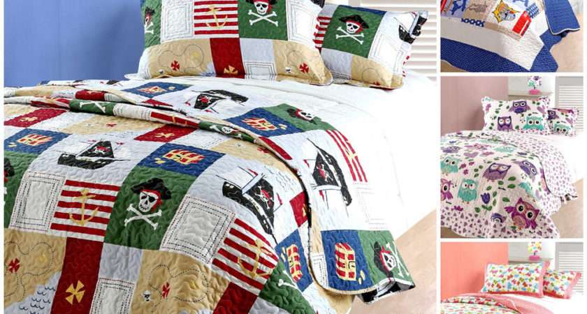 Childrens Bed Throws Comforter Bedspreads Single