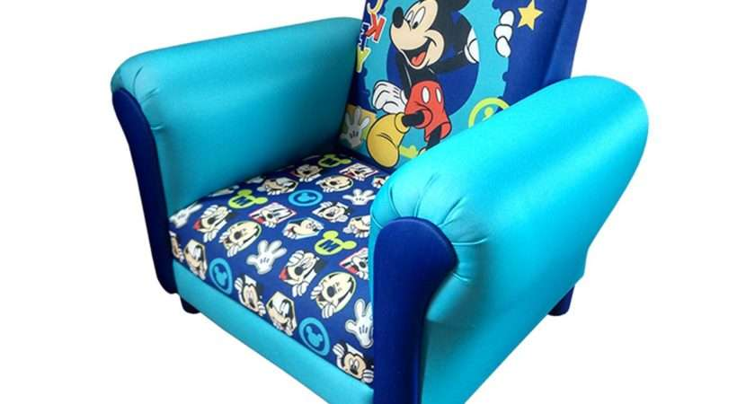 Childrens Mickey Mouse Cartoon Kids Armchair Childs