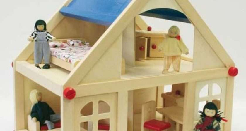 Childrens Wooden Dolls Houses Webnuggetz