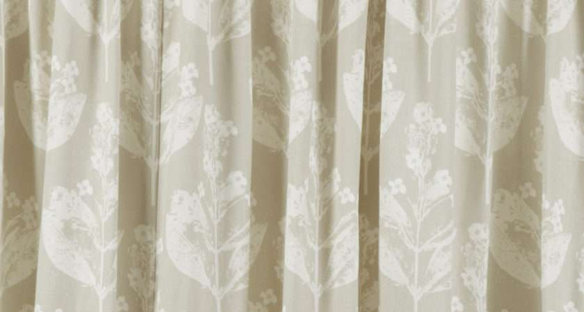 Chiltern Natural Cotton Ready Made Curtains Laura Ashley