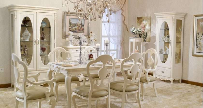 China French Style Dining Room Set Furniture Bjh