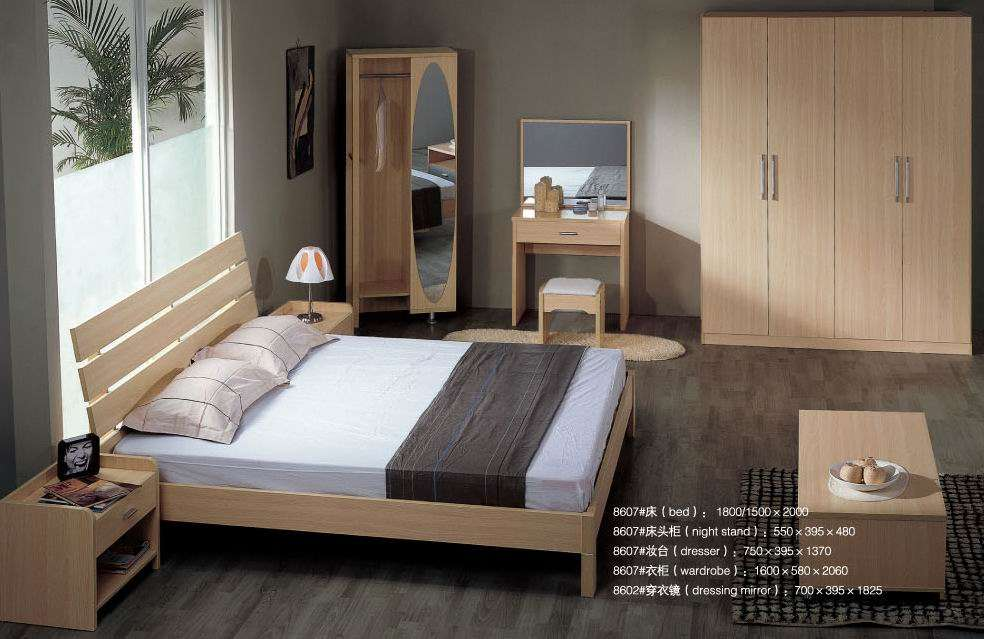 China Simple Bedroom Furniture Home