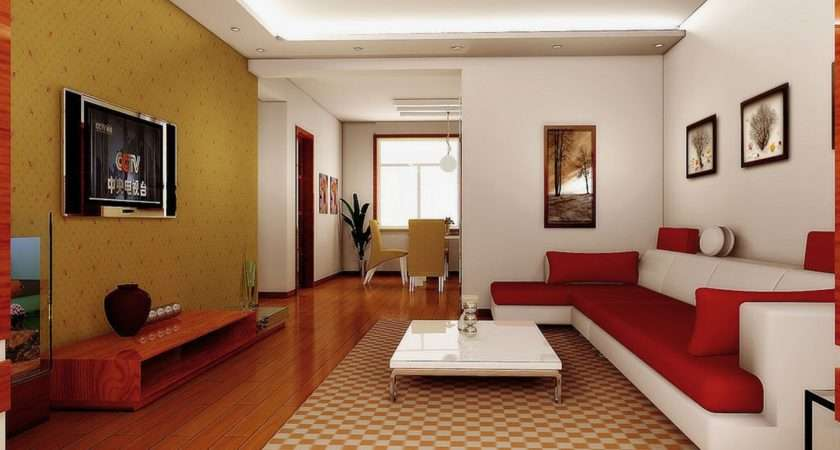 Chinese Modern Minimalist Living Room Interior Design