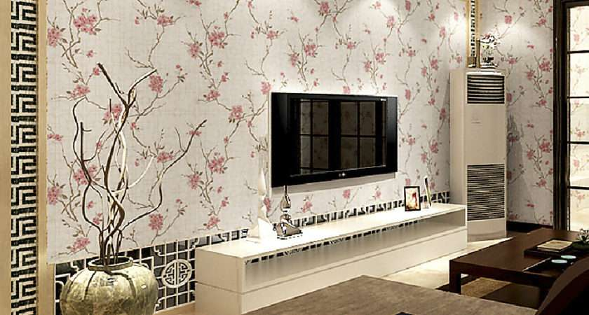 Chinese Style Living Room Wall