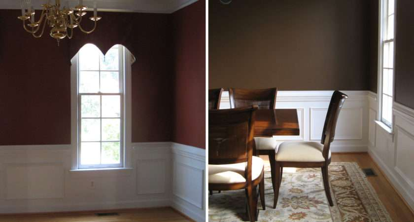 Chocolate Brown Dining Room Paint Color Design Lines Ltd