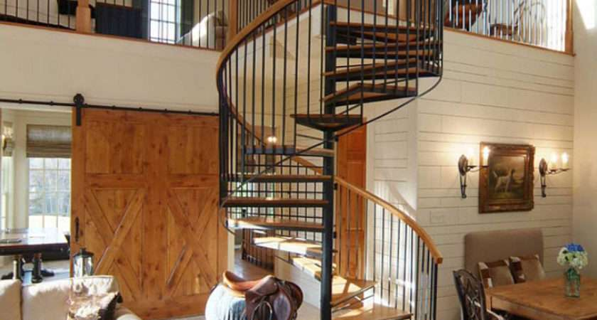 Choose Between Spiral Modular Staircases Home
