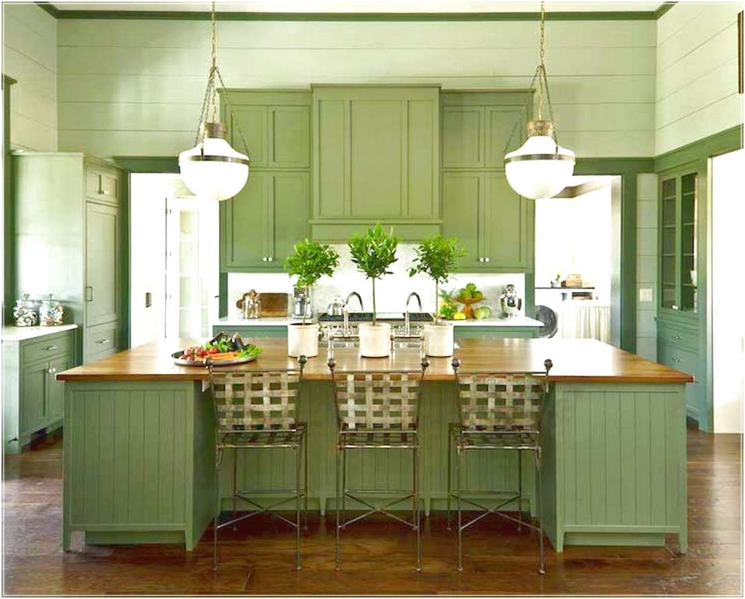 Choosing Your Home Green Kitchen Cabinets
